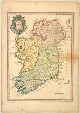 IRLAND Éire DUBLIN Original Kupferstich Landkarte um 1750 Nordirland KILLARNEY
