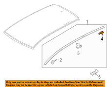 MAZDA OEM 16-17 CX-9-Roof Molding Protector Left TK48509L2