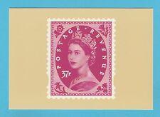 BRITISH POST OFFICE - SCARCE  PHQ  CARD  NO. D 21  -  WILDING  37p  -  2002