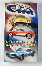 American Muscle Car Video '53 - '62 Corvette & Camaro SS396 Free Shipping
