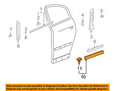 VW VOLKSWAGEN OEM Rear Door Body Side-Lower Molding Trim Right 3B0854950BB41