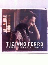 Italian Music Cd Tiziano Ferro I'amore E Una Cosa Semplice Musica Italia CD New