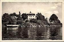 Stockholm Schweden Sverige 1954 Waldemarsudde Djurgården Villa Prinz Eugen Haus