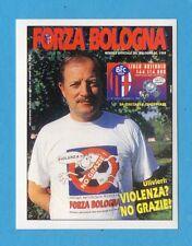 BOLOGNA 96/97 - EDILAND -Figurina n.41- COPERTINA RIVISTA FORZA BOLOGNA -NEW