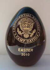 Camp David 2010 Easter Egg / White House /  Presidential Item