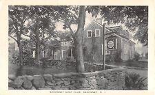 1930's? Sakonnet Golf Club Sakonnet RI post card