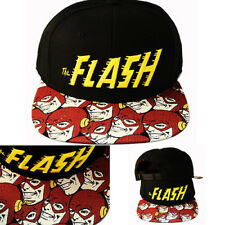 DC Comics Marvel Cartoon The Flash Snapback Hat Video Game Sublimation bill Cap