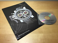 Press Release GRAHAM Chronofighter Oversize Overlord Mark II + CD For Collectors