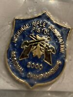 National Rifle Association NRA 2000 Pistol Regional Championship Hat/Lapel Pin