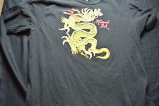 Miami Ink Black Dragon Xl Short Sleeve Men's Shirt