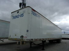 "1996 Great Dane Semi Trailer 53' x 102"" No Reserve 96 Dry Van # 49596 Sm F Tx"
