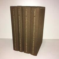 Paul Guth HISTOIRE DE LA LITTERATURE FRANCAISE T. 1 2 3 4 Club Livre 1969 -CC21B