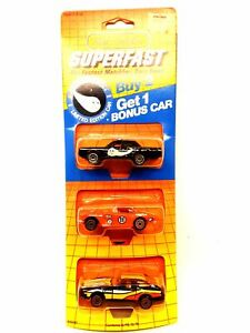 Vintage 1985 Matchbox Superfast Limited Edition Halley's Comet 3 Pack New Sealed