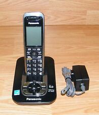 Genuine Panasonic (Kx-Tg7431B) 1.9 Ghz Dual Handsets Single Line Cordless Phone