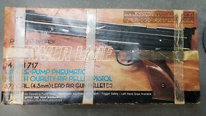 DAISY POWERLINE 717 SINGLE PUMP PNEUMATIC MATCH QUALITY AIR  GUN .177 + Pellets