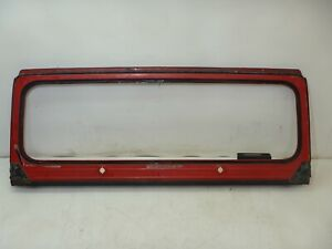 Jeep  Wrangler  YJ  87 - 95  OEM  Windshield  Frame Red  FREE SHIPPING