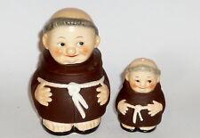 2 antique Figurines Goebel Moines Salière Hummel Pot Prise Menage TOP