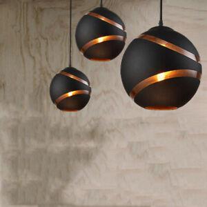Glass Pendant Light Modern Kitchen Lighting Black Bar Ceiling Lights Home Lamp
