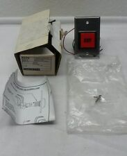 """NEW DynaLock 6270 Illuminated 2"""" Square Red Button w/black """"EXIT"""" Momentary SPDT"""