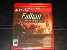 New! Fallout: New Vegas Ultimate Edition PlayStation 3 PS3 Free Shipping RPG DLC