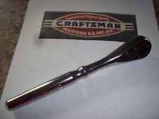 """NEW CRAFTSMAN HAND TOOLS 3/8"""" drive Quick Release Ratchet Socket Wrench Hand lot"""