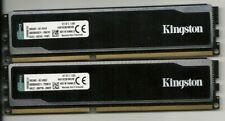 Kingston HyperX black 8Go DDR3 1600 mhz 1,65v KHX16C9B1BK2/8X testé memtest86