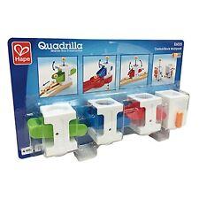 Hape E6025 Quadrilla Control-Block Multipack Marble Run Game Kids Ages 4+ Years