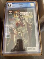 Champions (Volume 3) #1 CGC 9.8 Marvel Zombies Variant Spiderman free shipping