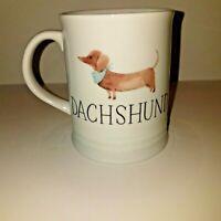 Best Dog Coffee Cup Mug Julianna Swaney for Fringe Daschund-Weiner Dog