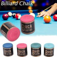 Triangle Cue Tip Chalk For Snooker Pool Billiard Tables Chic Mixed Color