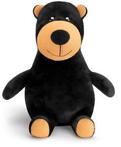 Mousehouse Gifts Ours en peluche Big Belly - très doux - tout âge - noir - 25 cm
