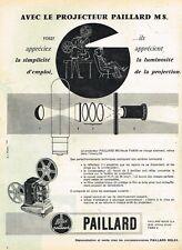 D- Publicité Advertising 1958 La camera M8 paillard Bolex