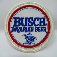 "Vintage Patch - Busch - ""Bavarian Beer"" - Embroidered - Logo - Collectible"