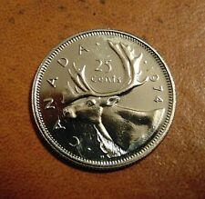 1974 CANADA quarter dollar twenty five 25 cents cent piece coin PL