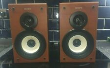 SONY SS-CSPZ50 BOOK SHELF 2 WAY SPEAKERS 6 OHMS