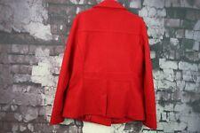 Womens Laura Ashley Red Jacket size Uk 14 No.F549 24/10