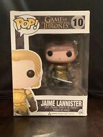 Funko Pop! JAIME LANNISTER #10 GOT Game Of Thrones 2013 Vinyl Figure