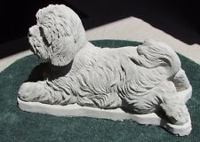 Large Concrete Shih Tzu Statue Or Use As A Memorial, Pet Grave Marker