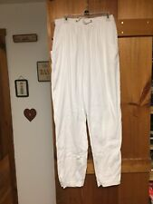 White Stag Collection White Sweat Pants Med.