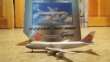Gemini jets 1:400 China airlines cargo 747 200f