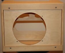 rawcabs 1x12 pine narrow panel unfinished tweed deluxe cabinet for a 5e3 chassis