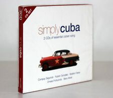 SIMPLY CUBA [2 CD'S OF ESSENTIAL CUBAN SONG] FUORI CATALOGO 698458020222