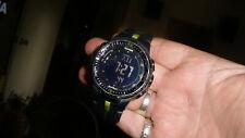 Casio Protrek Prw-3000 Black Watch For Men Triple sensor working great solar