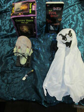 HALLOWEEN DECORATIONS Creepy Hand Wall Light & flying ghost props Haunted house
