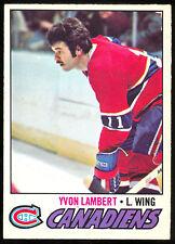 1977 78 OPC O PEE CHEE #151 YVON LAMBERT NM MONTREAL CANADIENS HOCKEY CARD
