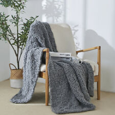 Chunky Handmade Knitted Blanket Throw Blankets Soft Sofa Bed Office Home Decor