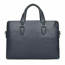 Luxury Famous Brand Men Briefcase Leather Laptop Bag Fashion Male Shoulder Bags