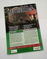 Wildlife World Guide to Hedgehogs
