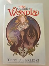 THE SEARCH FOR WONDERLA HARDCOVER NOVEL by TONY DiTERLIZZI 1ST EDITION!