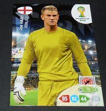 JOE HART ANGLETERRE ENGLAND FOOTBALL CARD PANINI FIFA WORLD CUP BRASIL 2014